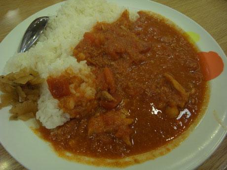 松屋フレッシュトマトカレー