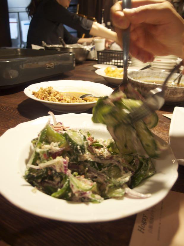 海月食堂,ブータン料理,ホゲ