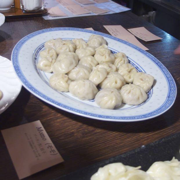 海月食堂,ブータン料理,モモ