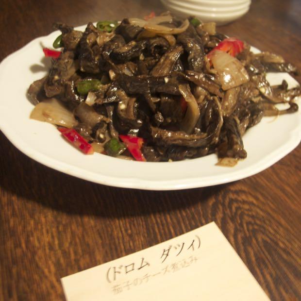 海月食堂,ブータン料理,ドロムダツィ