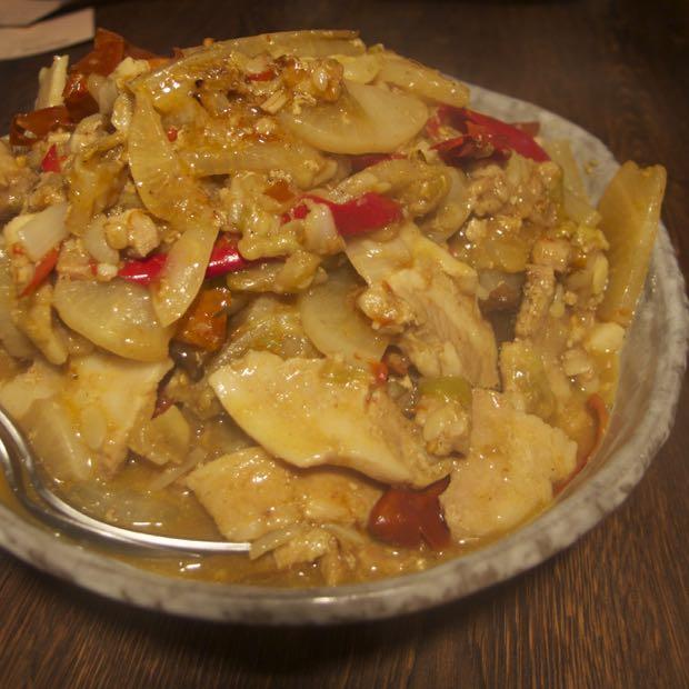 海月食堂,ブータン料理,パクシャパー