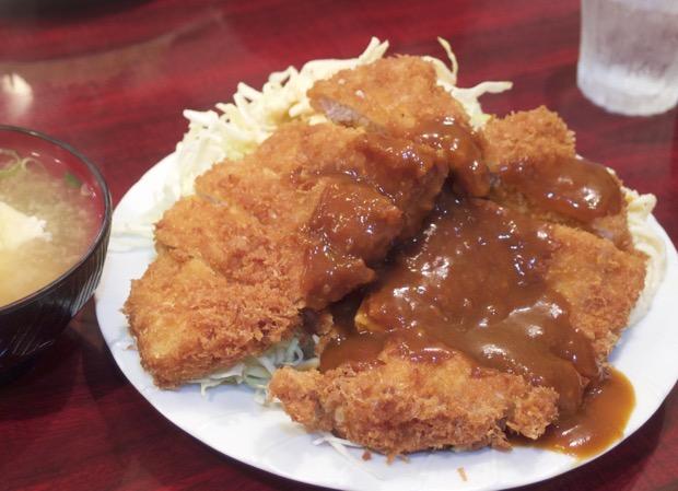 炉端レストラン ボア トンカツ定食