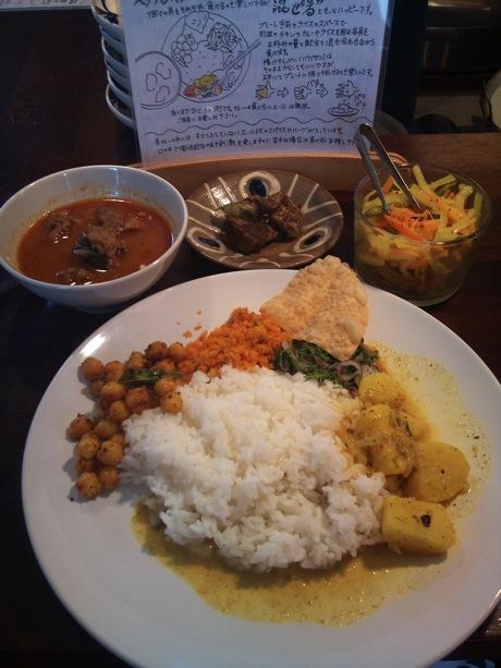 スリランカ料理 カラピンチャ