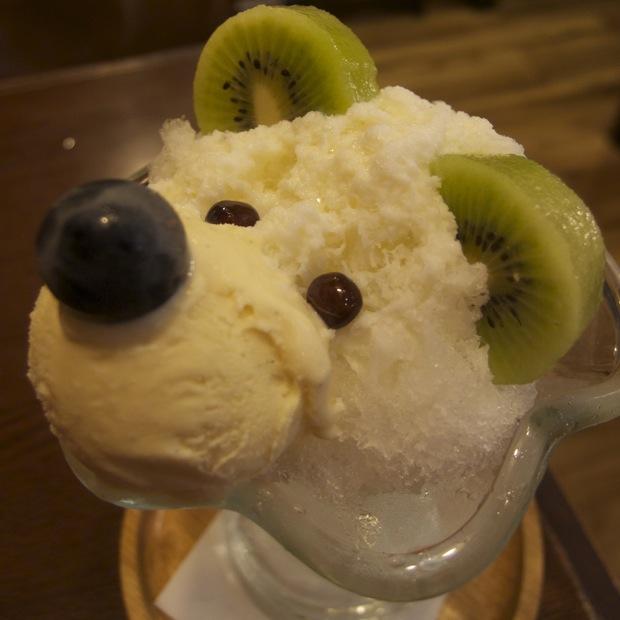 水道筋 喫茶 ドニエ 白くま 白熊 しろくま