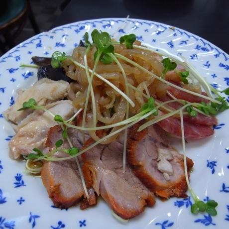 広東料理 天天 香港式前菜の盛り合わせ