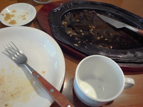 バッファローハンター:激盛りガーリックステーキ