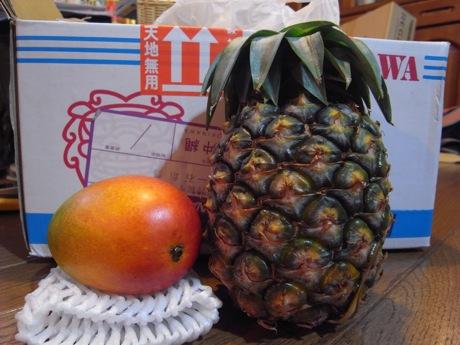 マンゴー&パイナップル