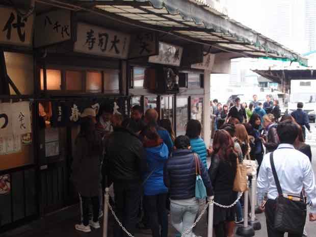 築地市場 寿司大