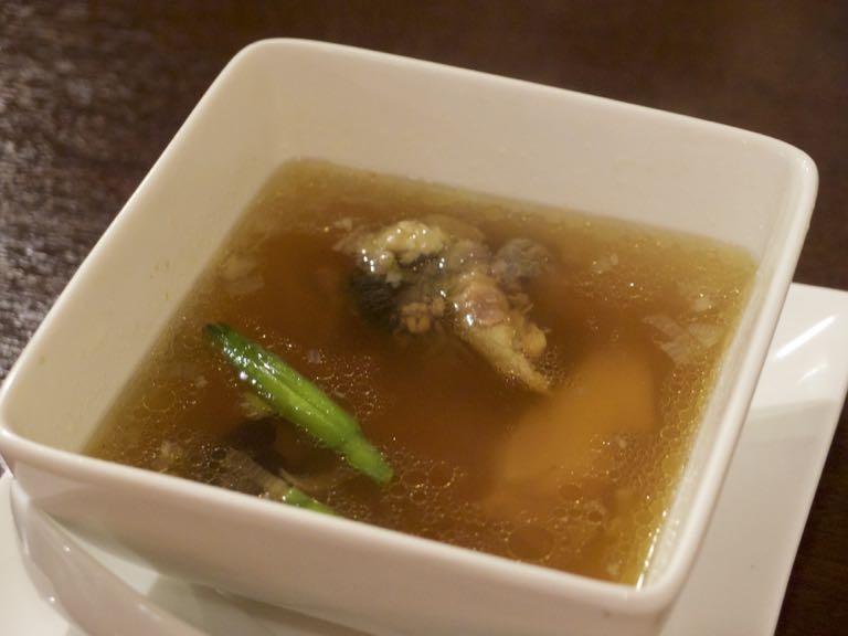 海月食堂,スッポン薬膳スープ