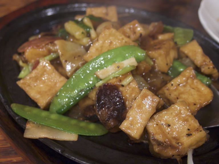世界入りにくい居酒屋 台湾 台北 阿才的店 阿才豆腐