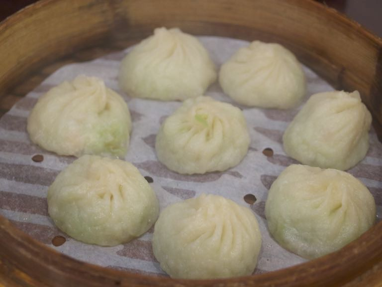杭州小籠湯包 小籠包 角瓜蝦仁湯包